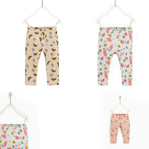 Pack Of 3, 3 Month to 3 Years, Comfortable Stylish Printed Trouser For Baby & Boy | 24HOURS.PK
