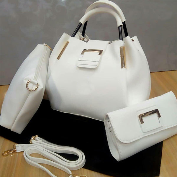 Stylish Hand Bags For Ladies White | 24HOURS.PK