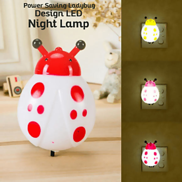 Pack of 2 Ex New Fashionable Multi-Color Power Saving Different Design LED Night Lamp, US Plug (1023) | 24hours.pk
