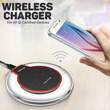 Fantasy Wireless Charger For All Qi Certified Devices, Black | 24HOURS.PK