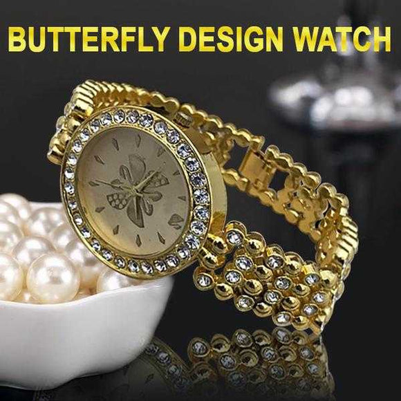 Butterfly Design Watch For Womens | 24HOURS.PK