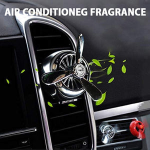 Car Air Conditioning Fragrance - Silver | 24HOURS.PK