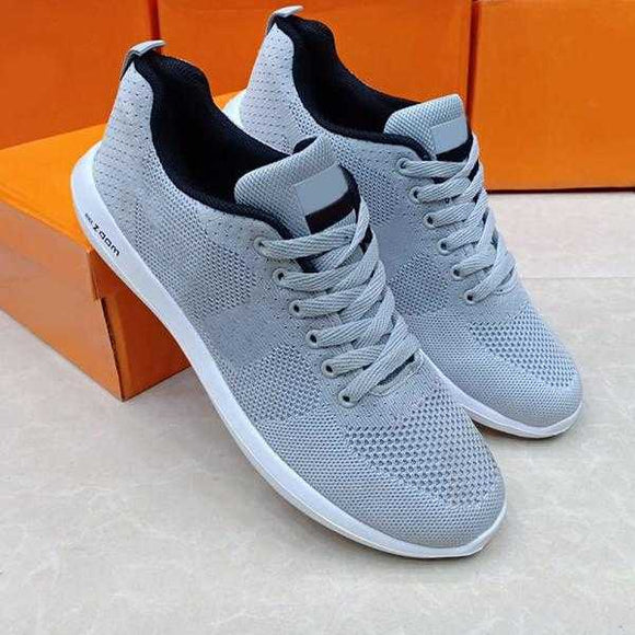 Wolf Revolution Running Shoes for mens grey and white. | 24HOURS.PK
