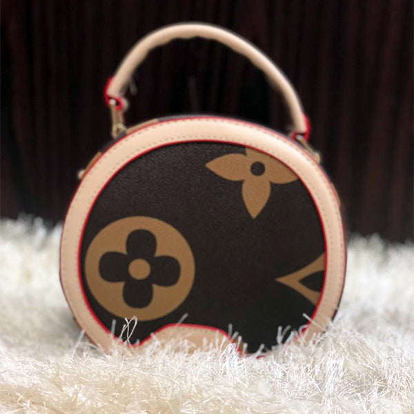 Rounded Circle Bag For Women Light Brown | 24HOURS.PK