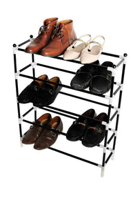 Stainless Steel Shoes Rack 4 Steel Shulfs | 24hours.pk