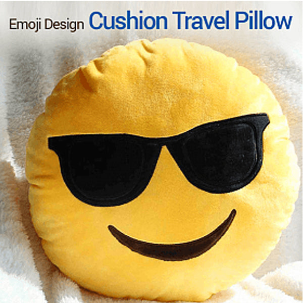 Emoji Printed Cushion Random Designs | 24HOURS.PK