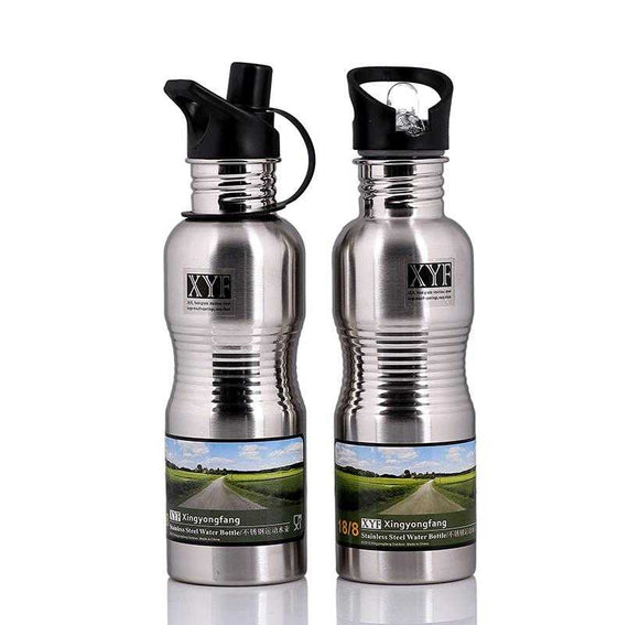 Stainless Steel Sports Water Bottle (036) | 24hours.pk