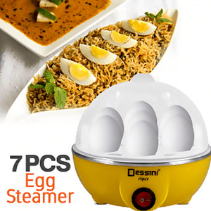 Dessini Regina 7 Pcs Electric Egg Steamer 350 Watts (1022) | 24HOURS.PK
