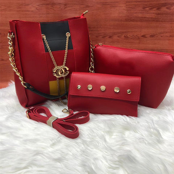 Cross Body Women Bag High Quality Casual Female Bag Red | 24HOURS.PK