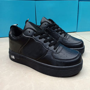 Air Force Mens Skateboard Shoes Sneakers Athletic Fashion Shoes Black | 24HOURS.PK