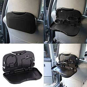 Pack of 2 Folding Auto Cup Holder Car Back Seat Table Auto Travel Dask (1120) | 24HOURS.PK