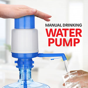 Pack of 2 Manual Water Pump with Water Switch | 24HOURS.PK