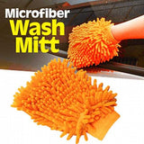Pack of 2 Microfiber Car Wash Washing Cleaning Glove And King Tools Auto Tow Rope  Multi-Colour | 24HOURS.PK