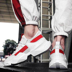 High Quality Men Sneakers Comfortable Outdoor Shoes White | 24HOURS.PK