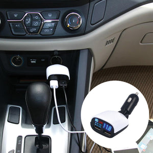 LED Dual USB Car Charger 3.4 Amp Super Fast Charger | 24HOURS.PK