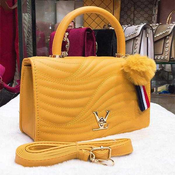 New Creative Women Shoulder Bag Yellow | 24HOURS.PK