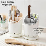 Spoon Holder Drain Cutlery Organizer Kitchen Gadgets | 24hours.pk
