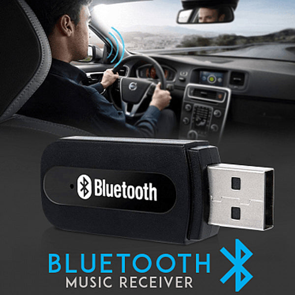 Pack Of 2 Bluetooth Music Receiver AUX Port Wireless 2.1 EDR, BT3 YET M1 | 24HOURS.PK