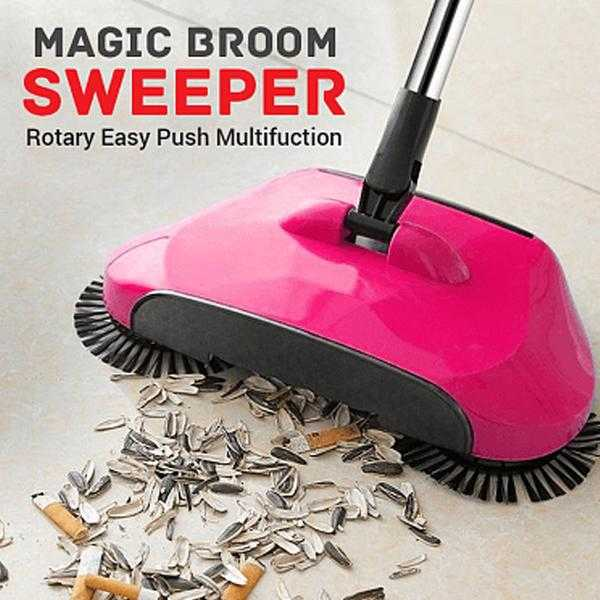 Rotary Easy Push Multifuction Magic Broom Sweeper | 24HOURS.PK