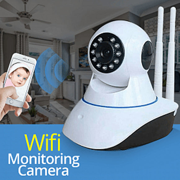 Bison 360-Degree Rotating WiFi Smart Net Baby Monitoring Camera | 24HOURS.PK