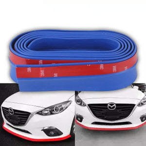 Car Rubber Extention & Protector Body kit 2.5M Roll - Blue | 24HOURS.PK