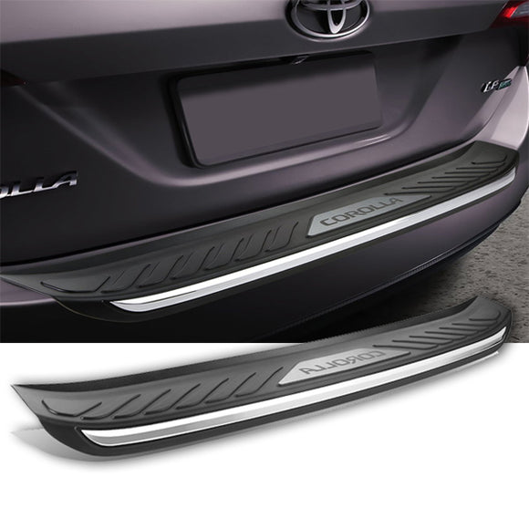 Toyota Corolla 2014 2018  ABS Rear Bumper Protector Trim | 24HOURS.PK