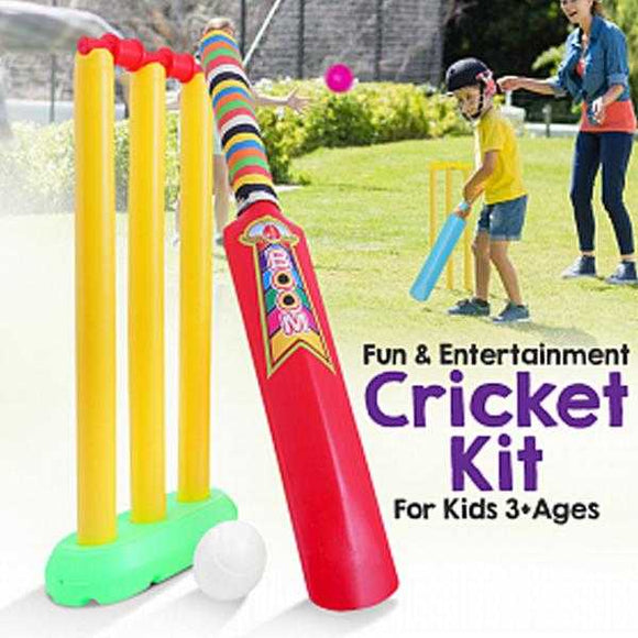 My Cricket Kit Game For Kids 3+Ages | 24hours.pk