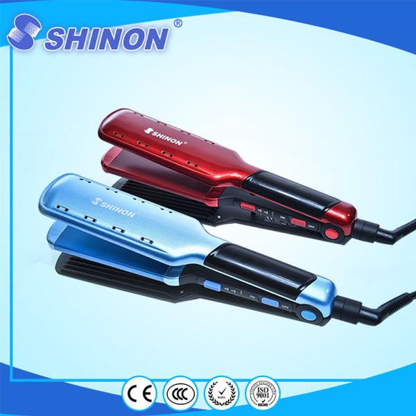 Shinon SH-8089 2in1 Hair Straightener And Crimper 1 | 24hours.pk