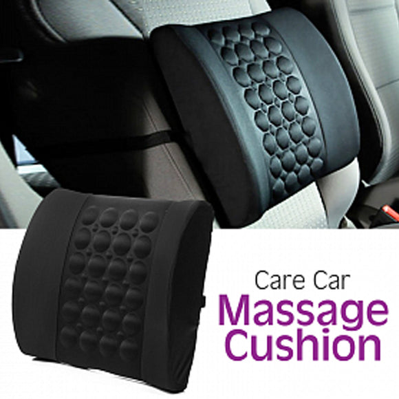 Car Seat Massage Cushion 12 v Black | 24HOURS.PK