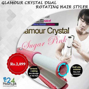 Glamour Crystal Dual Rotating Hair Style | 24hours.pk