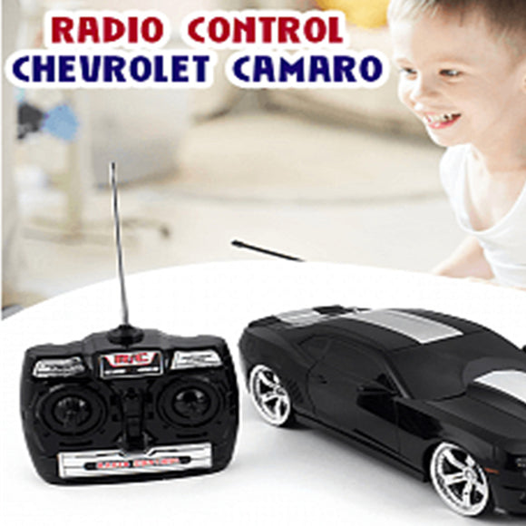 GK Racer Series Radio Control Chevrolet Camaro Copo 2012 Car Toy For Kids 8+ Ages, Black | 24HOURS.PK