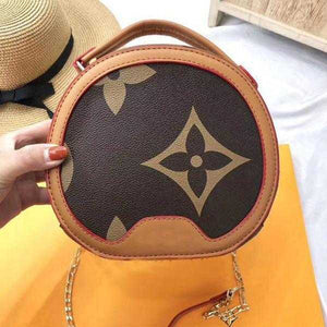 Rounded Circle Bag For Women Brown | 24HOURS.PK