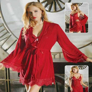 Red Nighty for Women D1 | 24HOURS.PK