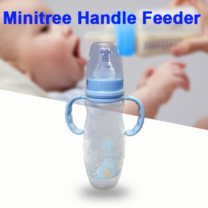 Pack of 2 Mini Tree Feeder Bottle Transparent and Blue | 24HOURS.PK