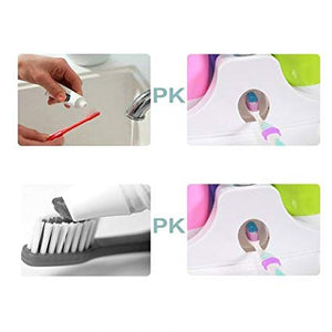 5 in 1 Bathroom and Brush Dispenser | 24hours.pk