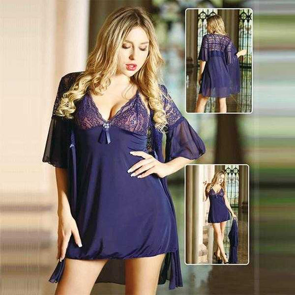Blue Nighty For Her - D2 | 24HOURS.PK