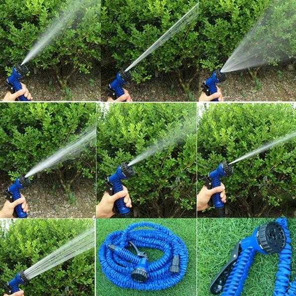 150 Ft Expanding Magic Hose with Gun Water Garden Pipe  Flexible Expandable Garden Water Hose | 24HOURS.PK