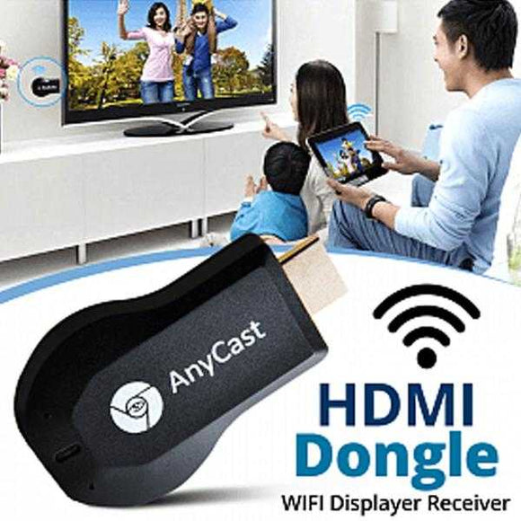 AnyCast HDMI Dongle WIFI Displayer Receiver | 24HOURS.PK