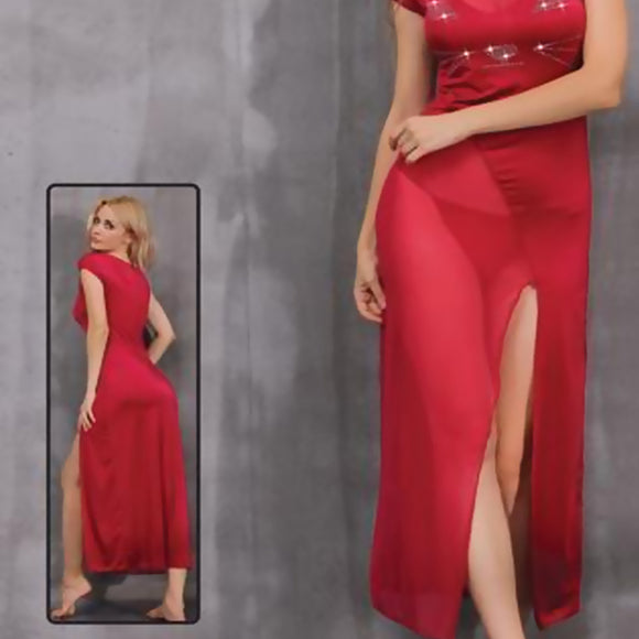Red Nighty for Women D5 | 24HOURS.PK