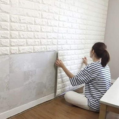 Pack Of 2 Brick wall sheet  70cm (27.56in)