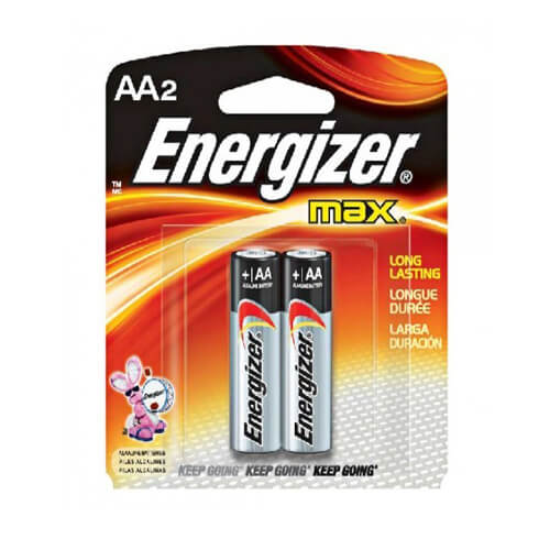 BATTERY ALK ENERGIZER AA2