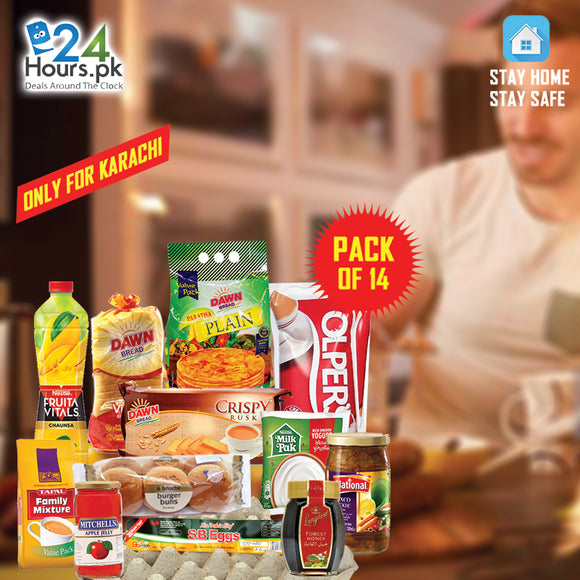 Pack of 14 Breakfast Weekly Package
