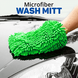 Microfiber Car Wash Washing Cleaning Glove - Multi-colors | 24HOURS.PK