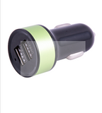 Universal Multi-Color 2 Port USB Car Charger | 24HOURS.PK