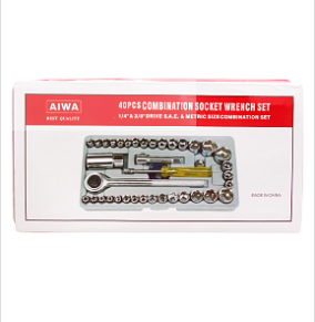 Aiwa Professional Tool Kit 40 Pcs With Box | 24HOURS.PK