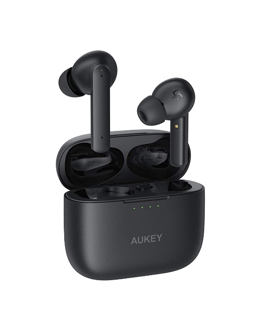 Aukey Active Noise Cancelling BT 5.0 TWS True Wireless Earbuds IPX5 ( EP-N5)
