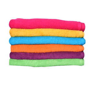 Pack Of 6 Multi Colors Face Towels | 24hours.pk