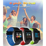 F21 Smart Bracelet Smartwatch Android IOS Bluetooth Sports Waterproof Heart Rate Monitor Blood Pressure Measurement Calories Burned Pedometer Call Reminder Sleep Tracker Sedentary Reminder | 24hours.pk