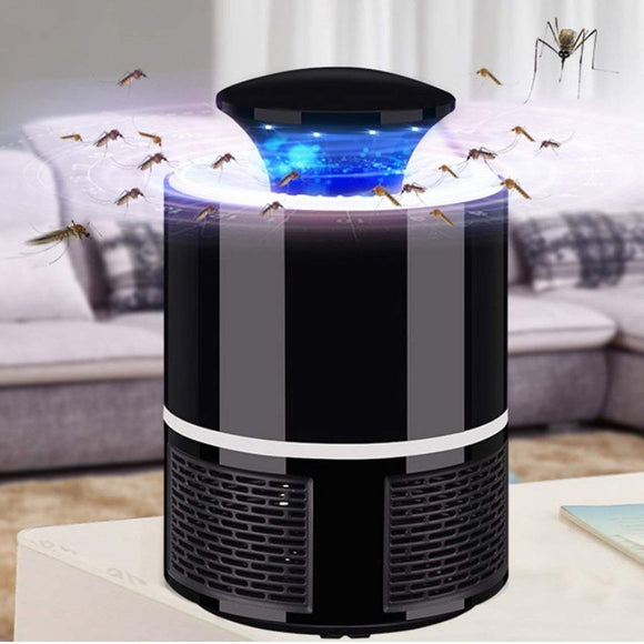 Mosquito Killer USB Electric Mosquito Killer Lamp Photocatalysis Mute Household LED Insect Zapper Insect Trap Random Color | 24hours.pk