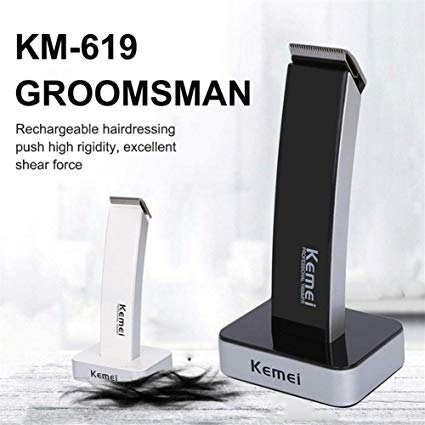 Kemei KM-619 Portable Electric Hair Trimmer Clipper Cutting | 24HOURS.PK